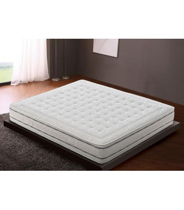 Mattress in multywaves memory H22 with Ginseng and aloe fabric - Comfort 3.0 MADE IN ITALY
