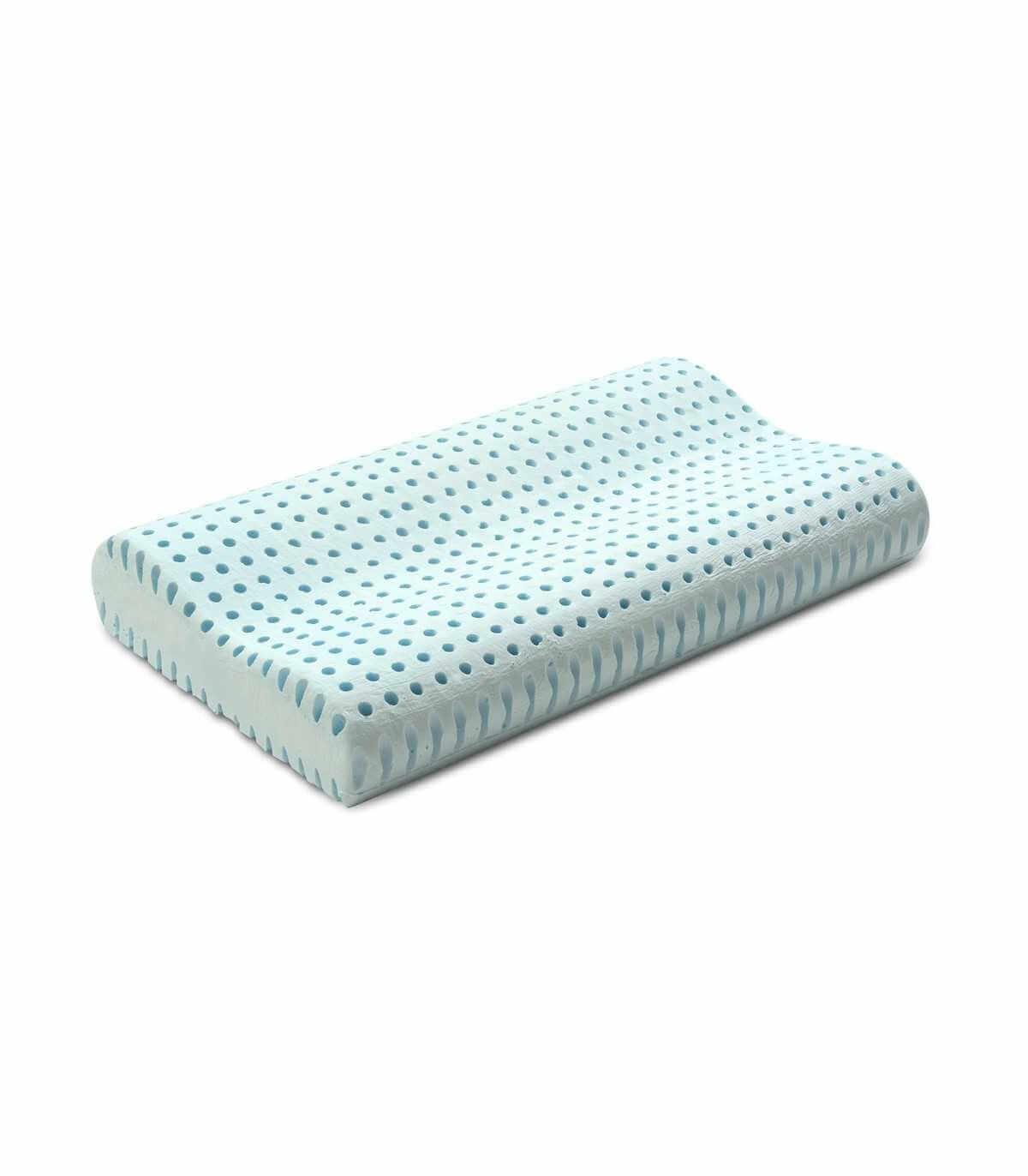 Cuscino Memory Foam Per Cervicale.Cuscino Per Cervicale In Memory Foam Con Cover In Cooler Fresh