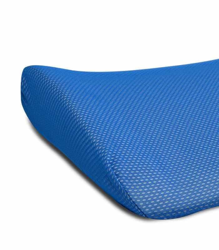 Cuscino lombare per la schiena da posizionare allo schienale della sedia. Interno memory