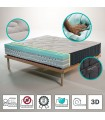 Mattress in multiwaves Memory H25 with aloe - Olimpo MADE IN ITALY
