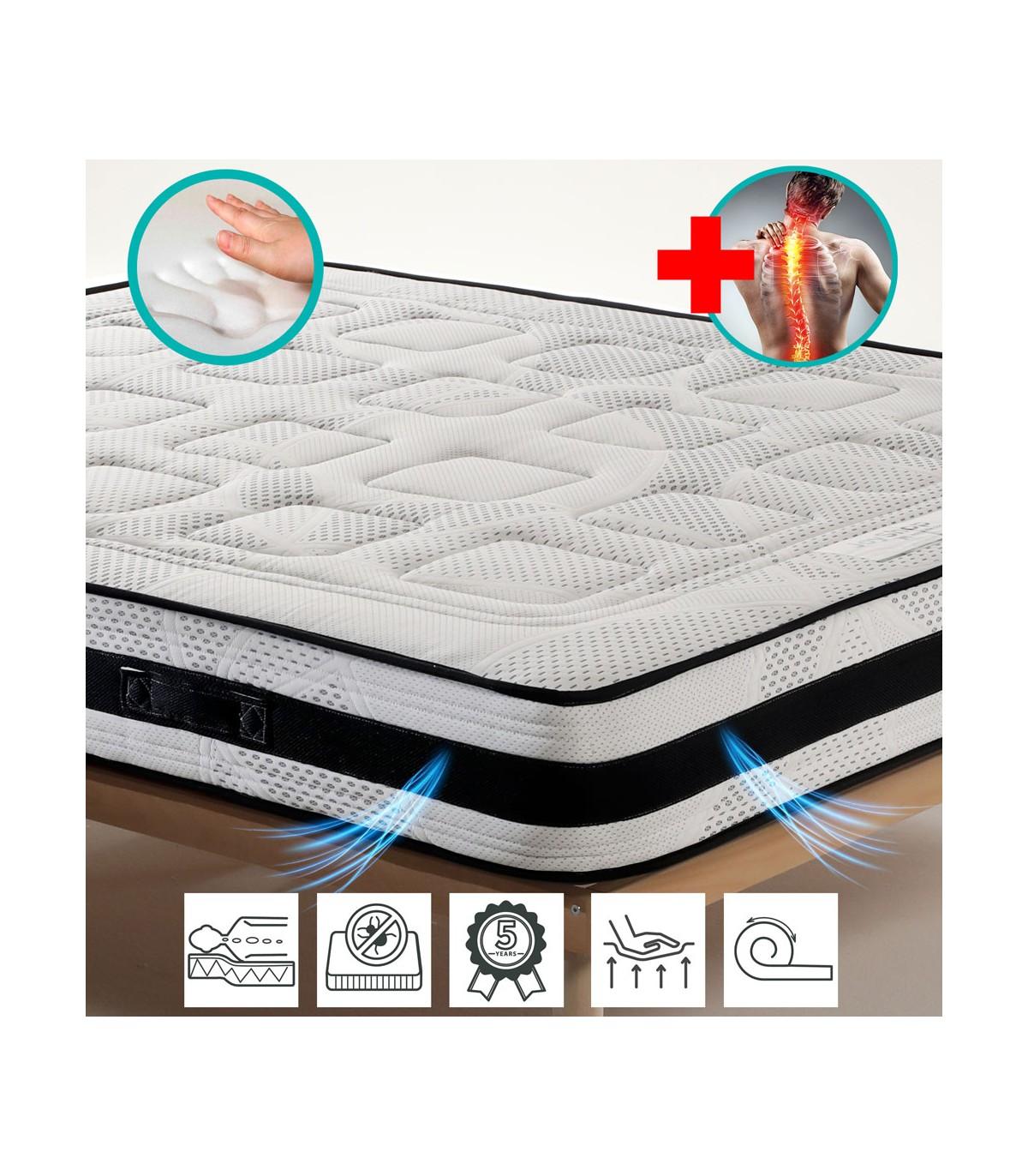 Kit Dispositivo Medico Materasso Memory Rete In Ferro A Doghe