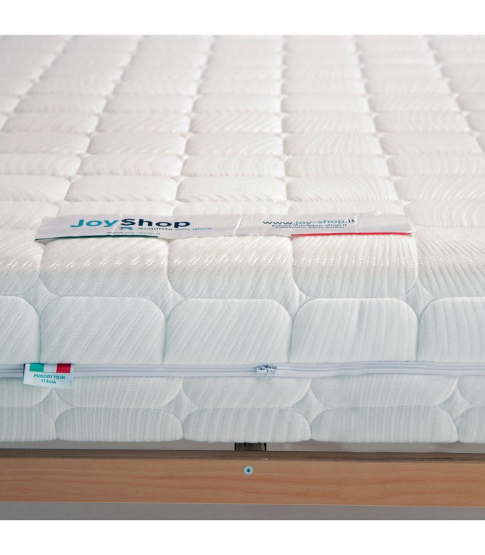 Orthopedic mattress semi rigid H20 cm in waterfoam- ECORELAX MADE IN ITALY