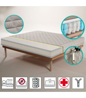 Materassi A Rate.Mattress With A Semi Rigid Support On Sale